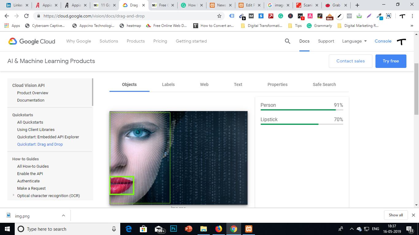 Google Image Scanning Tool