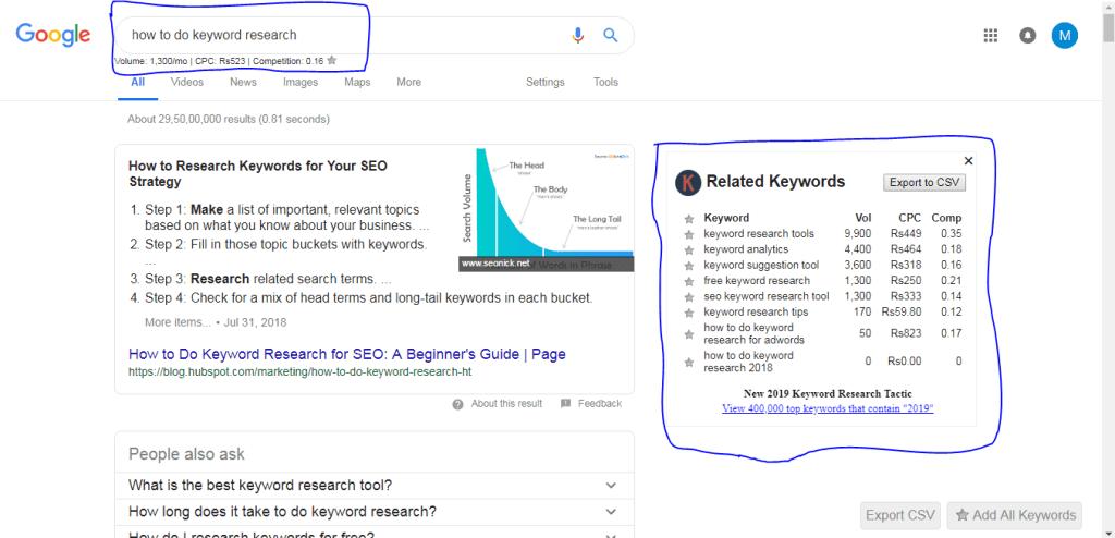 keyword-everwhere