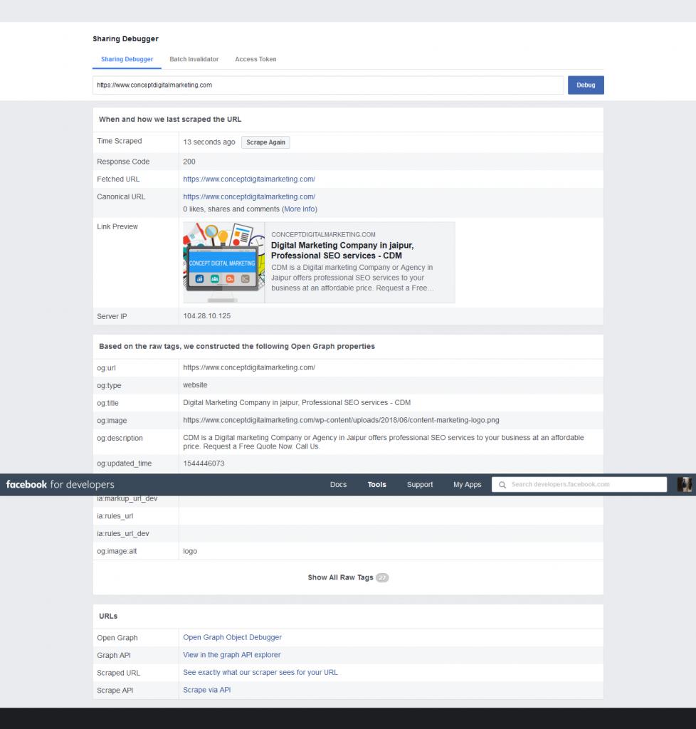 Facebook-Debugger-og-tag-for-concept-digital-marketing