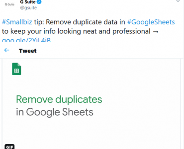 How to remove duplicates from google sheets