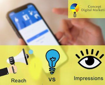 reach vs imoression-CDM