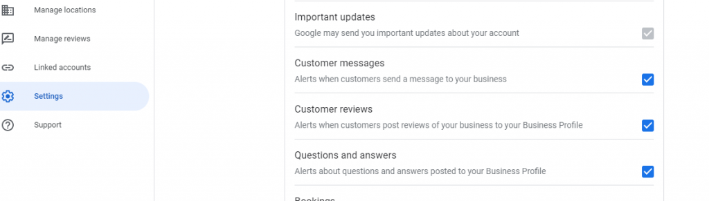 allow notification when someone review