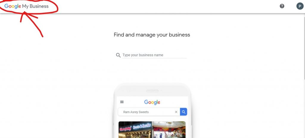 Login google local business listing