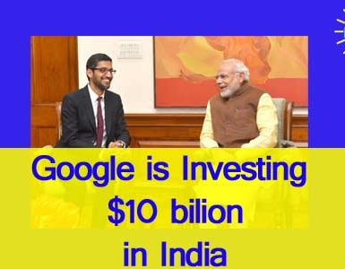 Concept digital marketing- Google investment in Inida