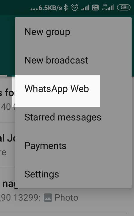 Step-3-1 How to make a WhatsApp Voice and Video call through Laptop or Desktop, in Just 4 Simple Steps